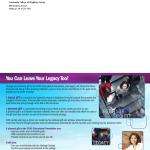 CCAC Newsletter back cover
