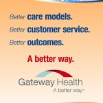 Gateway Health Rotating Banner Stands