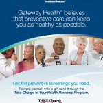 "Gateway Health ""Take Charge of Your Health"" Rewards Program Booklet"